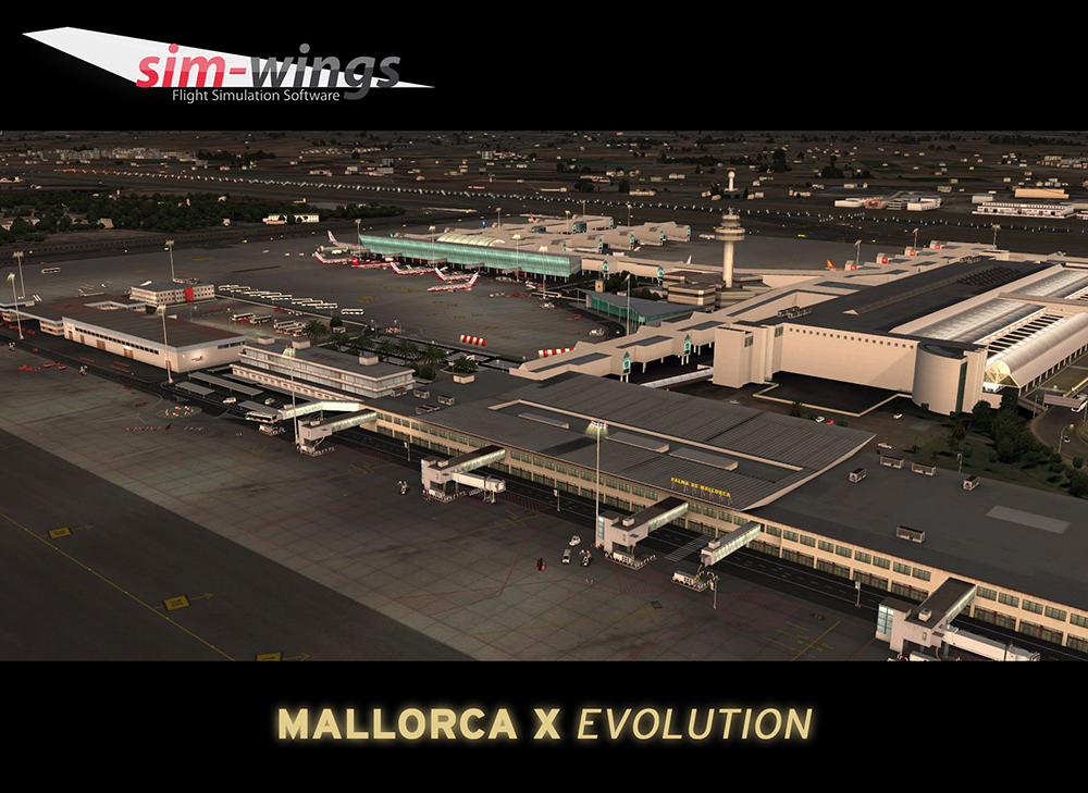 AEROSOFT - BALEARIC ISLANDS X EVOLUTION FSX P3D