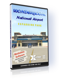 NMG SIMULATIONS - WONDERBOOM AIRPORT V1.3 X-PLANE 11