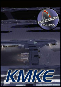 FSXCENERY - KMKE MILWAUKEE INTERNATIONAL AIRPORT FSX P3D