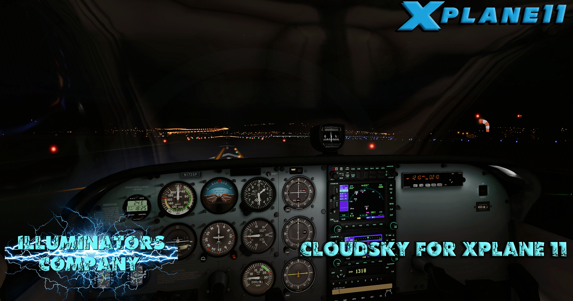 ILLUMINATORS - CLOUDSKY 2020 FOR X-PLANE 11