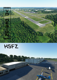 YD DESIGN - NORTH CENTRAL STATE AIRPORT-KSFZ MSFS