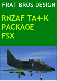 FRAT BROS DESIGN - RNZAF TA4-K PACKAGE FSX