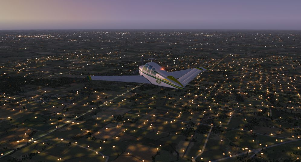 TABURET - FSX P3D NIGHT 3D INDIANA OHIO KENTUCKY