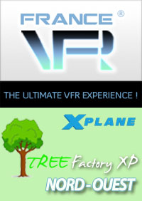 FRANCE VFR - TREE FACTORY XP NORTH-WEST