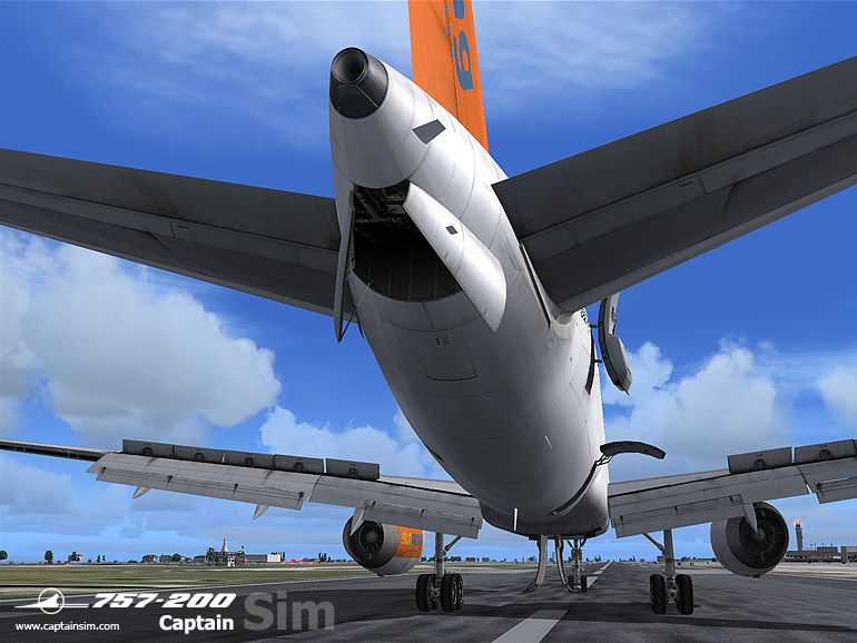 CAPTAIN SIM - 757-200 CAPTAIN BASE PACK - FS2004
