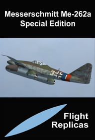 FLIGHT REPLICAS - MESSERSCHMITT ME-262A SCHWALBE SPECIAL EDITION FOR FSX