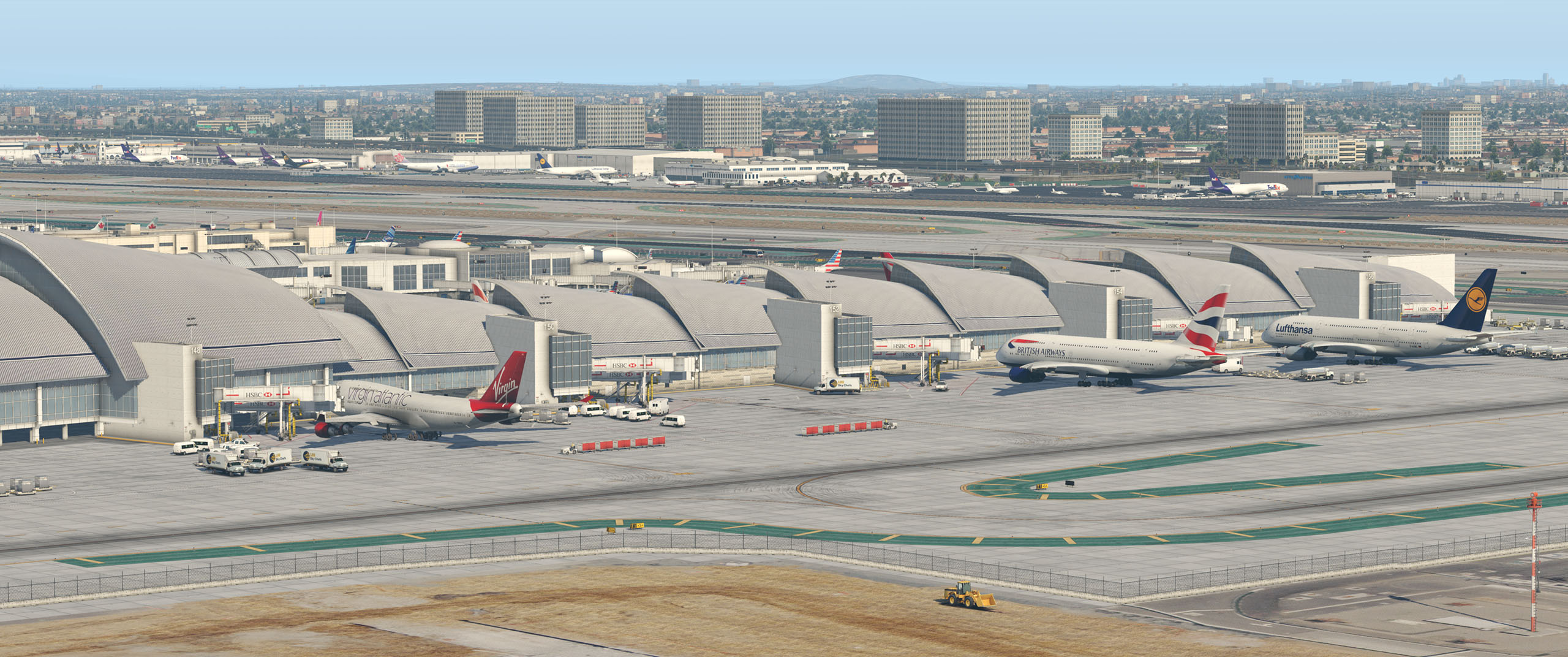 SHORTFINAL DESIGN - LOS ANGELES AIRPORT HD KLAX X-PLANE