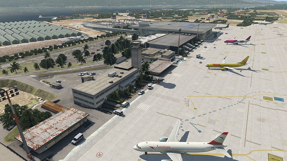 AEROSOFT - AIRPORT SPLIT XP X-PLANE 11