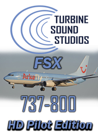 TURBINE SOUND STUDIOS - BOEING 737-800 CFM56-7B HD PILOT EDITION SOUNDPACK FOR FSX