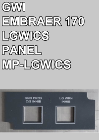 GWI - EMBRAER 170 LGWICS PANEL - MP-LGWICS