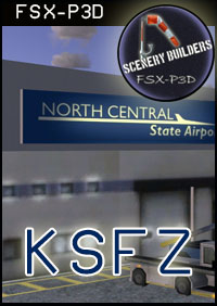 FSXCENERY - KSFZ NORTH CENTRAL STATE AIRPORT FSX P3D