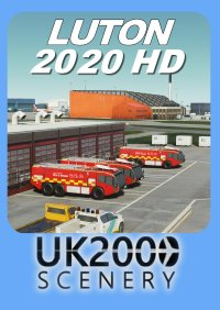 UK2000 SCENERY - LUTON 2020HD MSFS