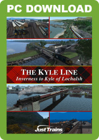 JUSTTRAINS - THE KYLE LINE - INVERNESS TO KYLE OF LOCHALSH
