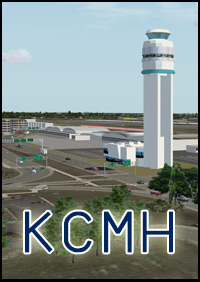 FSXCENERY - KCMH PORT COLUMBUS INTERNATIONAL AIRPORT FSX
