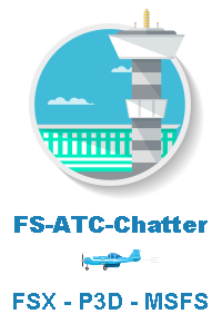 STICK AND RUDDER STUDIOS - FS-ATC-CHATTER 空中交通管制背景音 FSX P3D1-5 MSFS