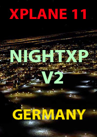 TABURET - NIGHT XP V2 GERMANY XPLANE11