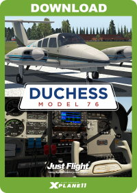 JUSTFLIGHT - DUCHESS MODEL 76 X-PLANE 11