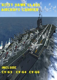 CIMOGT - KITTY HAWK CLASS AIRCRAFT CARRIER FSX P3D