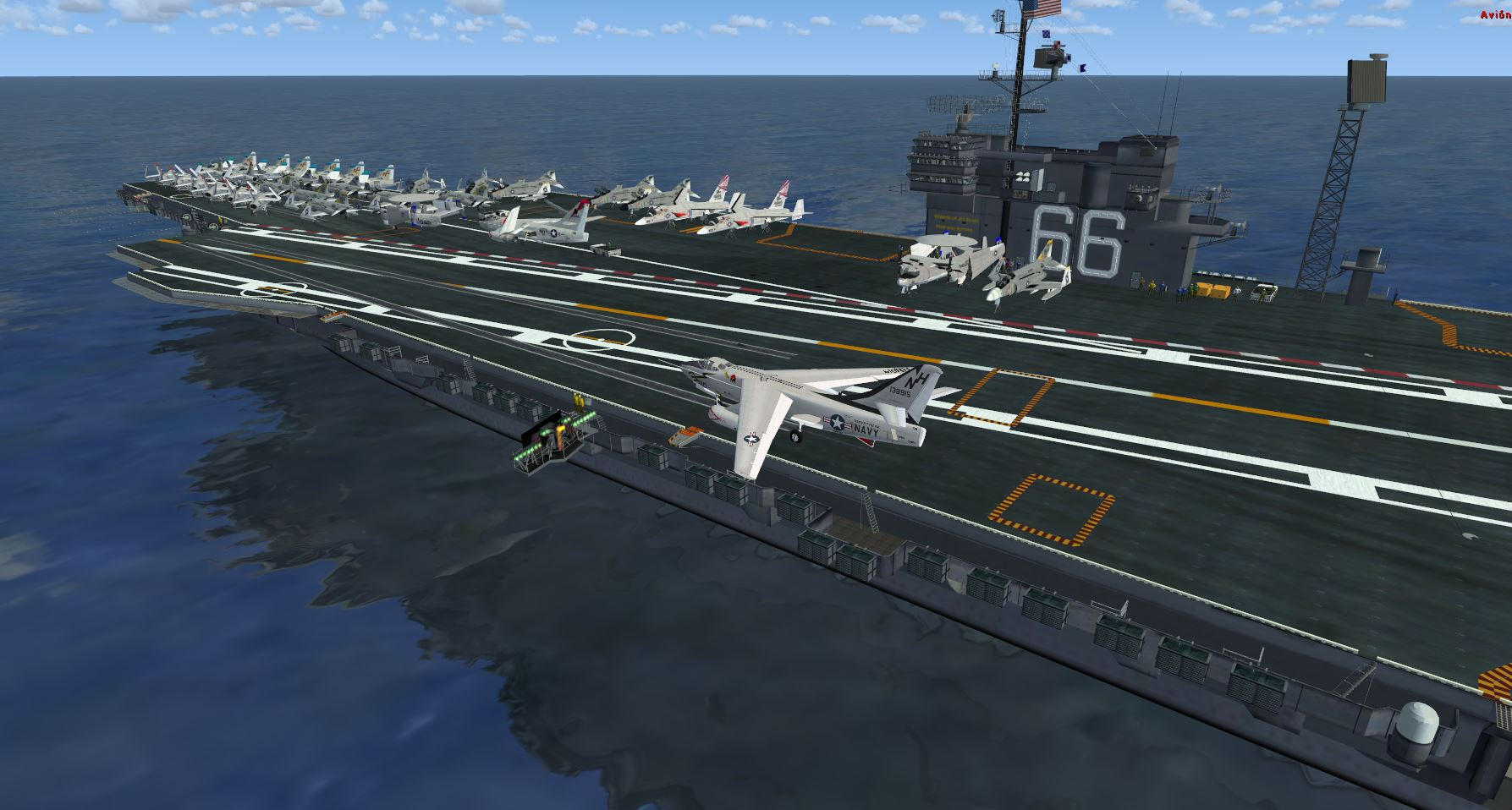 CIMOGT - KITTY HAWK CLASS AIRCRAFT CARRIER 小鹰号航空母舰 FSX P3D