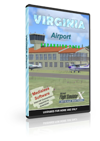 NMG SIMULATIONS - VIRGINIA AIRPORT V1.4 FSX