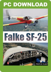 JUST FLIGHT - FALKE SF-25 P3D