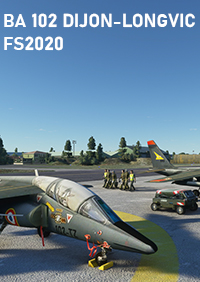 SKYDESIGNERS - FRENCH AIRBASE 102 DIJON-LONGVIC MSFS
