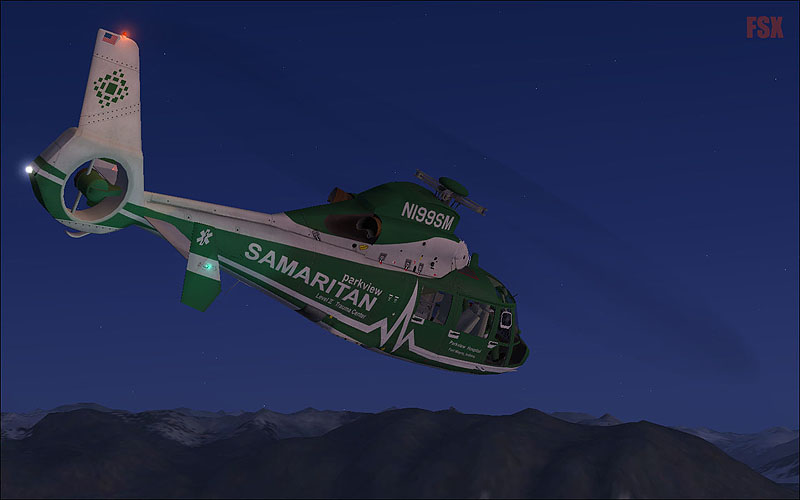 VIRTAVIA - AS365N DAUPHIN FSX STEAM EDITION DLC