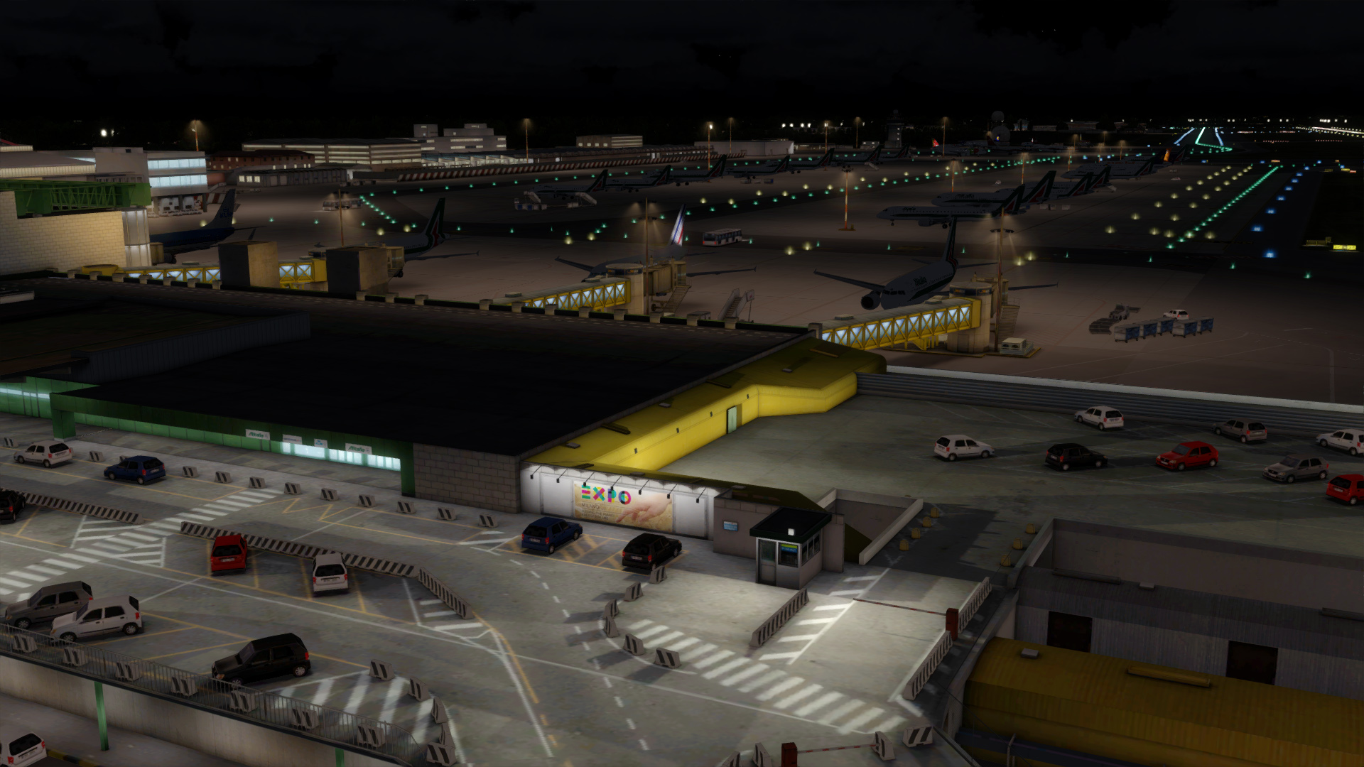 JETSTREAM DESIGNS - MILANO LINATE FSX P3D