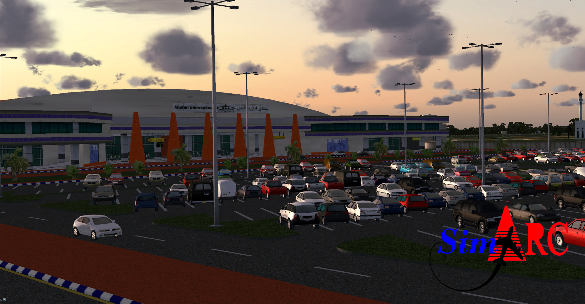 SIMARC - MULTAN INTERNATIONAL AIRPORT OPMT FSX P3D