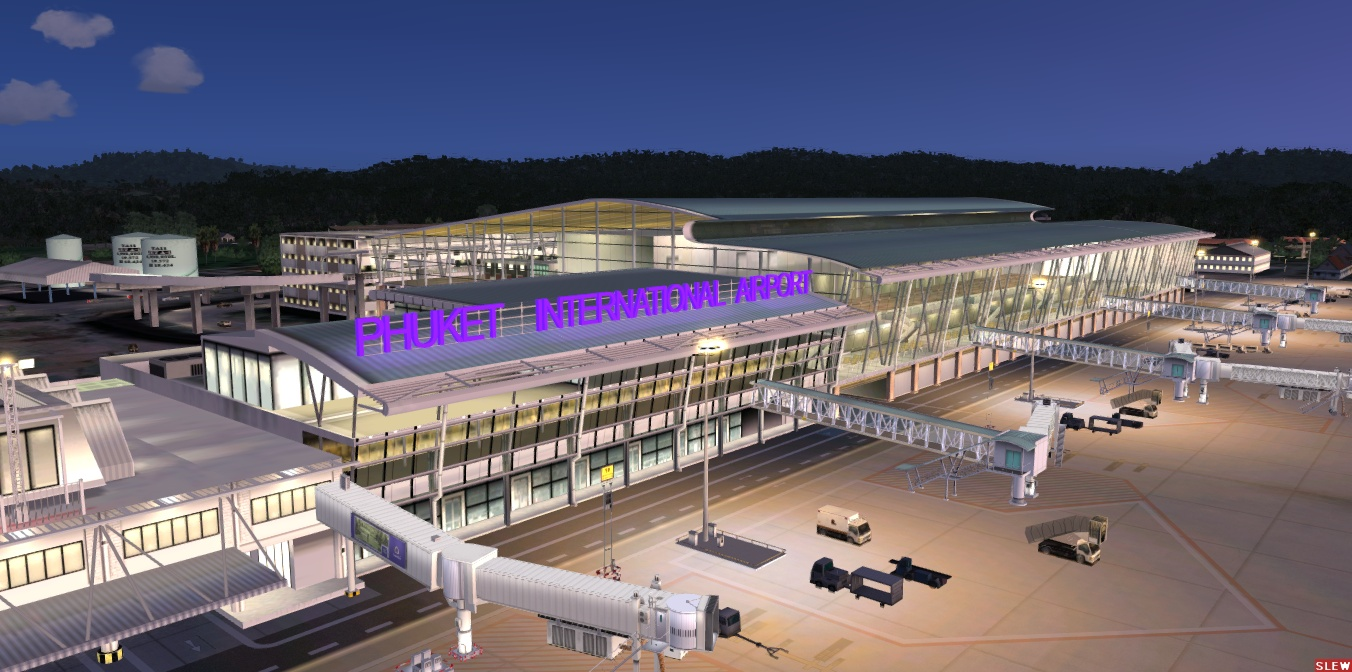 A_A SCENERIES - PHUKET INTERNATIONAL AIRPORT 2020 FSX P3D