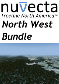 NUVECTA - TREELINE NORTH AMERICA™ NORTH WEST BUNDLE FSX P3D