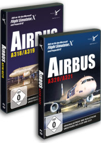 AEROSOFT - AIRBUS BUNDLE (A318/319 & A320/A321) FSX P3D (DOWNLOAD)