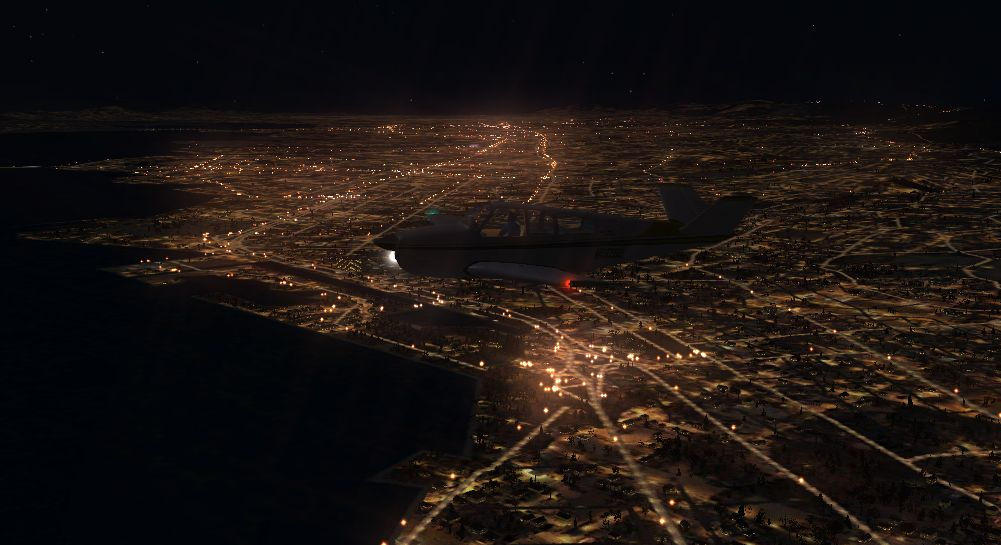 TABURET - FSX P3D NIGHT 3D NORTH AMERICA BASE PACK
