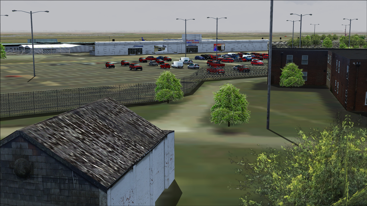 SOARFLY CONCEPTS - FLAGSHIP DURHAM TEES VALLEY AIRPORT FS2004