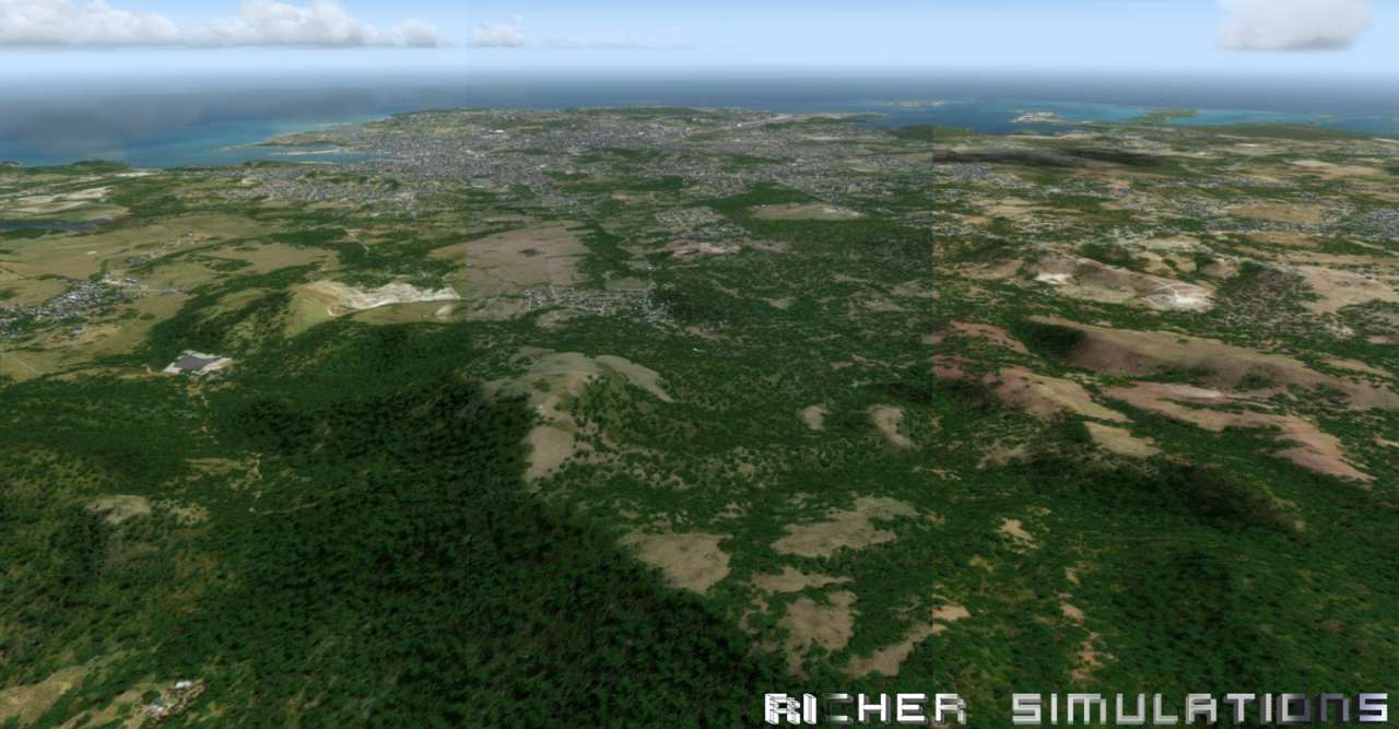 RICHER SIMULATIONS - CARIBSKY - ANTIGUA 2018 FSX P3D