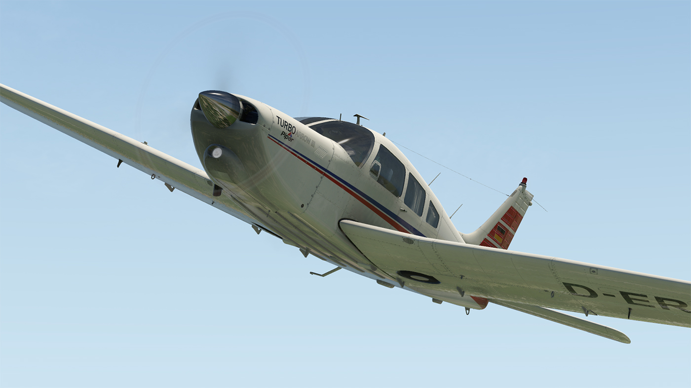 JUSTFLIGHT - PA-28R TURBO ARROW III/IV X-PLANE 11