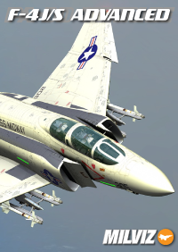 MILVIZ - ADVANCED SERIES F-4J/S PHANTOM II FSX P3D