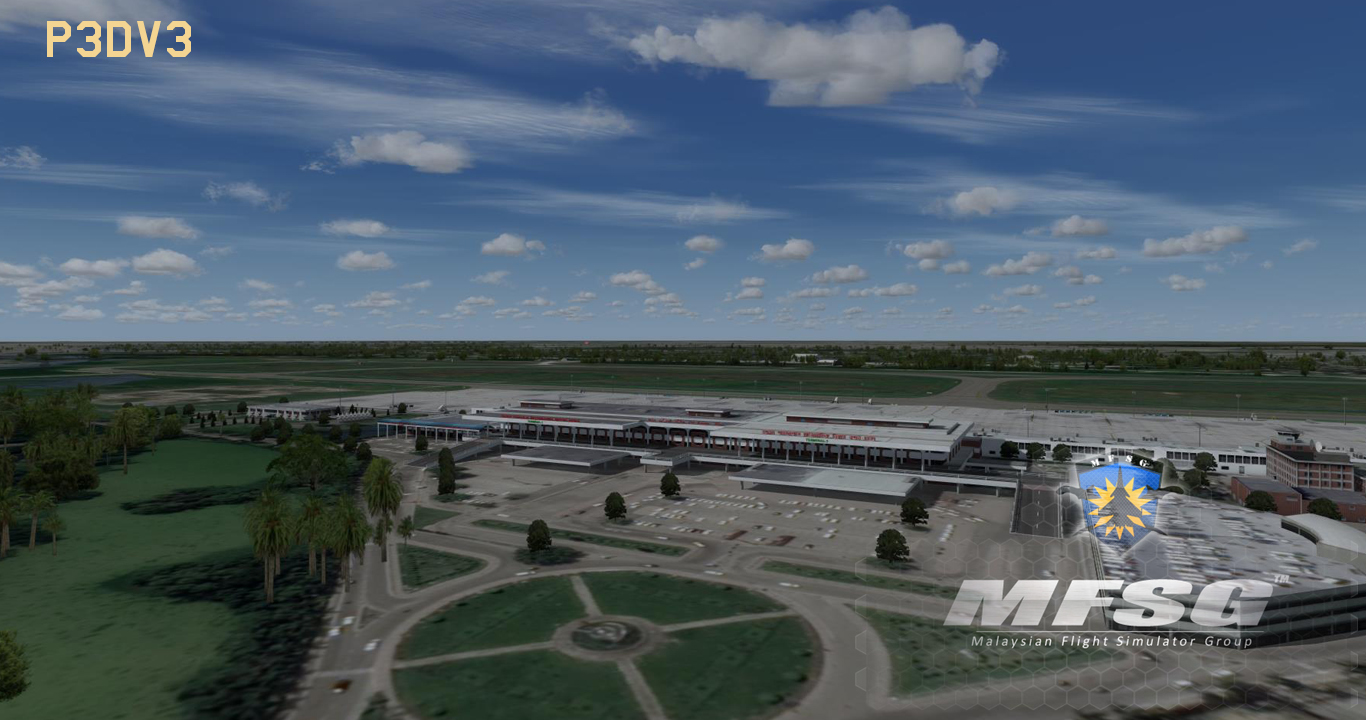 MFSG - HAZRAT SHAHJALAL INTERNATIONAL AIRPORT VGHS 2019 FSX P3D FS2004