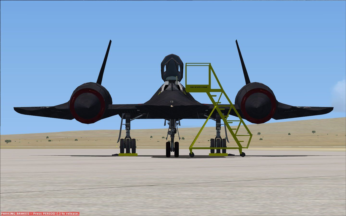 GLOWINGHEAT - LOCKHEED SR-71 BLACKBIRD