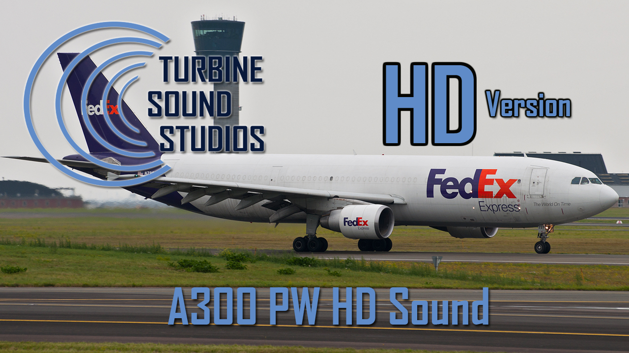 TURBINE SOUND STUDIOS - A300PW HD SOUND FS2004