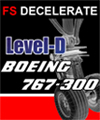 FS DECELERATE FOR LEVEL-D BOEING 767 (LANDING CALCULATOR)