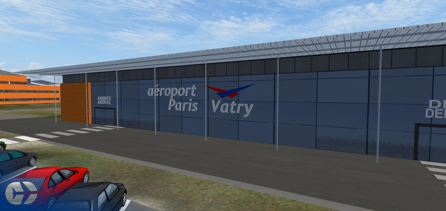 SIMCREATIONS - PARIS VATRY AIRPORT FSX/P3D