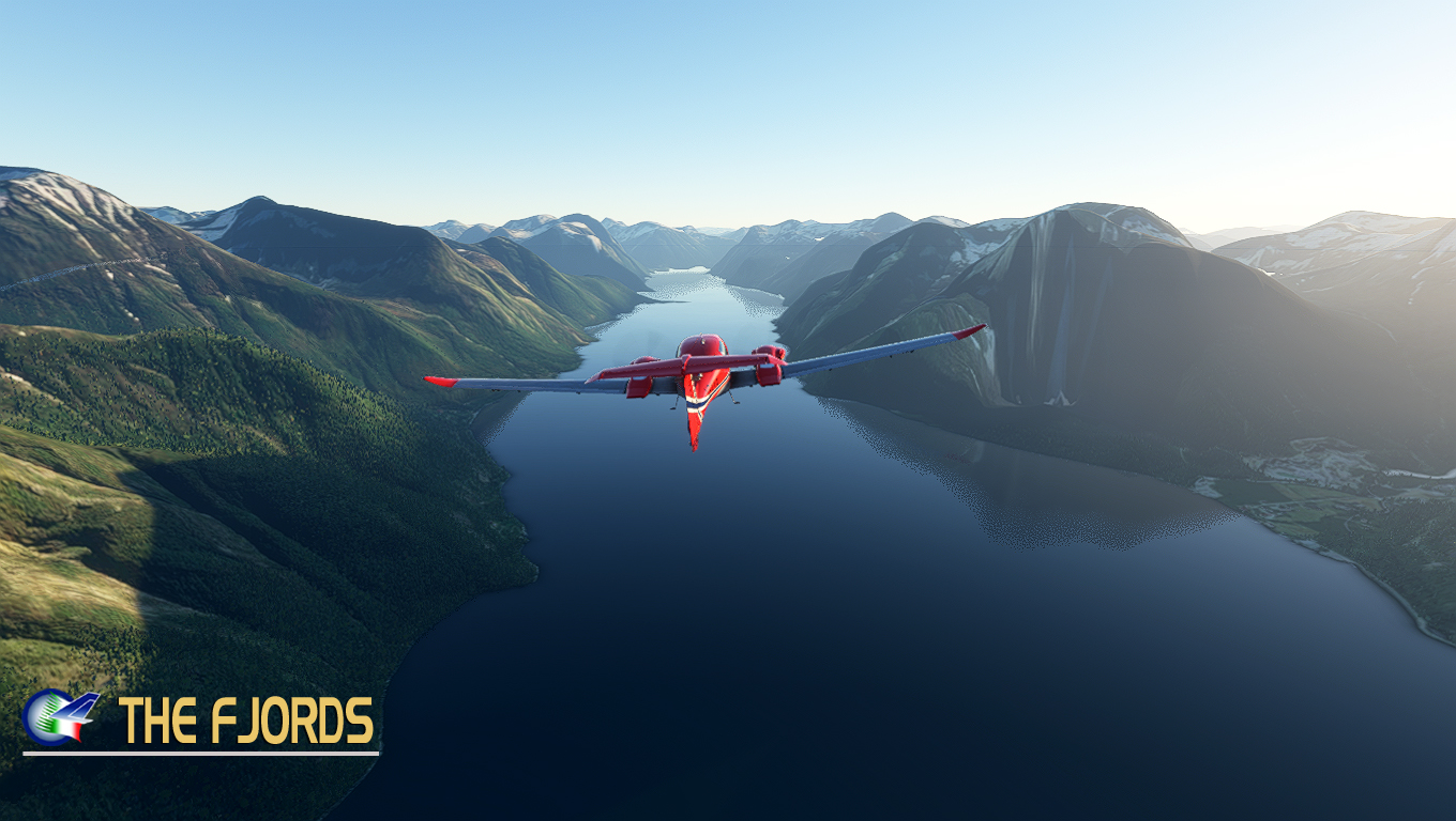 PERFECT FLIGHT - BUSH TRIP - THE FJORDS MSFS