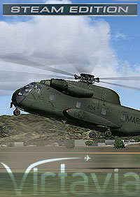 VIRTAVIA - CH-53A SEA STALLION FOR FSX-SE