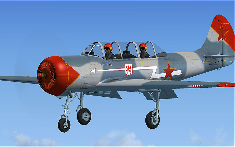 VIRTAVIA - YAKOLEV YAK-52 - FSX STEAM EDITION DLC