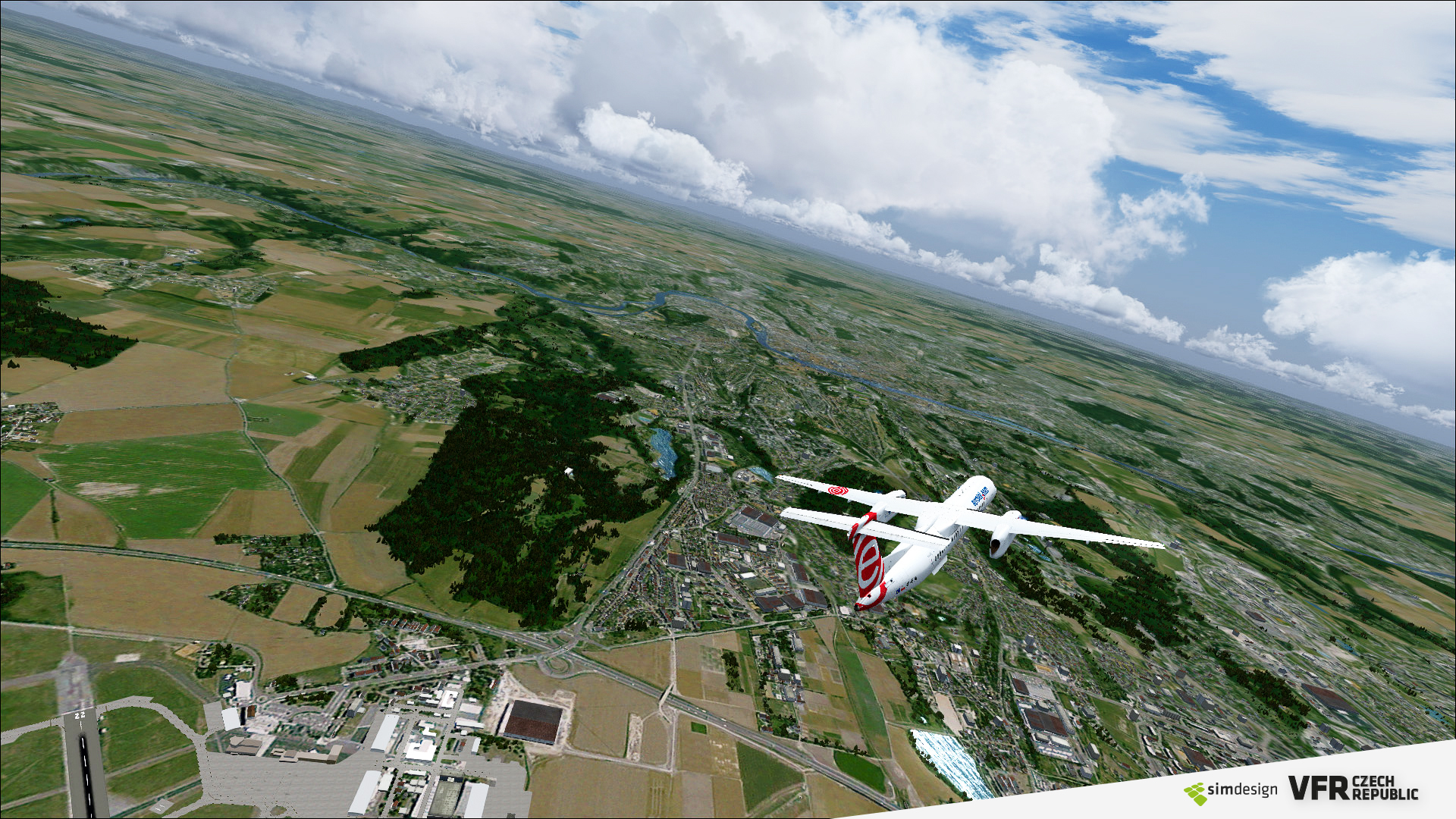 SIMDESIGN - VFR CZECH REPUBLIC FSX P3D (DOWNLOAD)