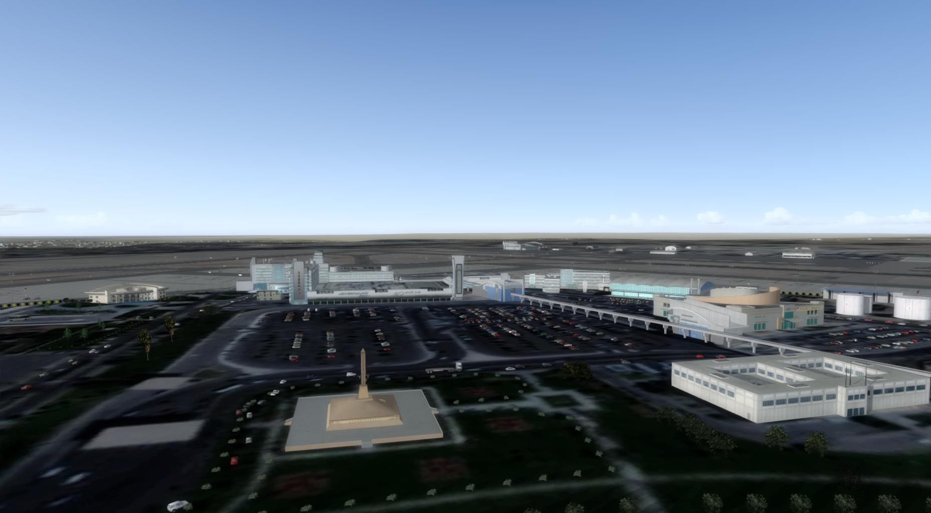 SDG - CAIRO INTL AIRPORT V2 HECA FSX P3D