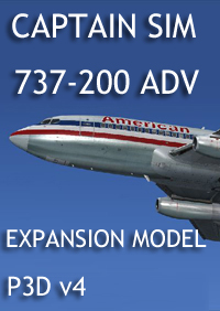 CAPTAIN SIM - 737 CAPTAIN - 737-200ADV EXPANSION P3D v4