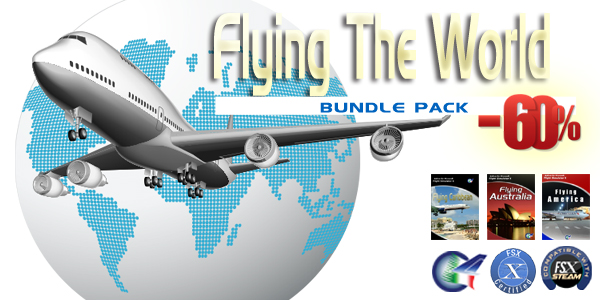 PERFECT FLIGHT - PERFECT FLIGHT - FLYING THE WORLD BUNDLE PACK FS