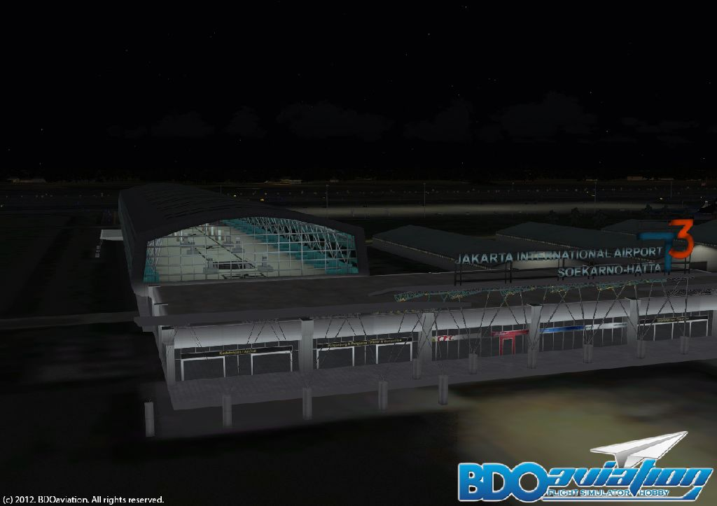 BDOAVIATION - SOEKARNO-HATTA INTERNATIONAL AIRPORT FSX